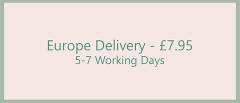Europe delivery £7.95