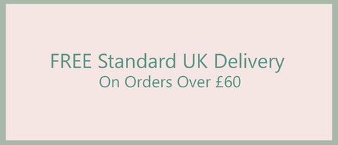 Free standard delivery on orders over £60