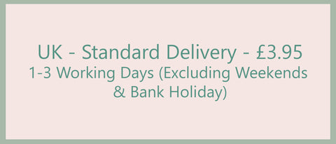 UK standard delivery - £3.95. 1-3 working days