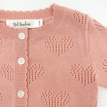 Load image into Gallery viewer, Cardigans for babies and toddlers at Bel Bambini boutique. See our exclusive baby and toddler collections online today.