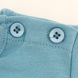 Button fastenings to the neck on our long sleeve tee allow for easy dressing and look super stylish too.
