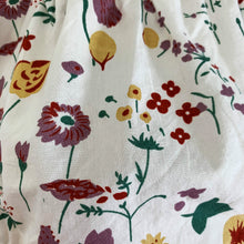 Load image into Gallery viewer, Baby girl rompers, toddler rompers. This has to be one of the prettiest prints in the most beautiful autumnal tones on a whitre base. 100% cotton fabric to ensure comfort on delicate baby skin.