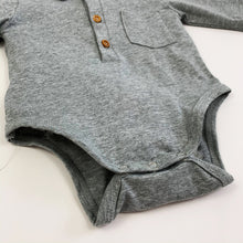 Load image into Gallery viewer, Detail shot of baby boy shirt vest. Baby shirt. Baby boy romper shirt.