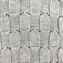 Load image into Gallery viewer, Weave Knitted Romper - Grey