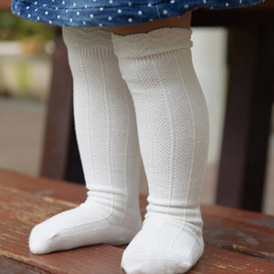 baby girl socks. toddler knee high socks available in a variety of colours. perfect socks for 0-2 year olds. bel bambini toddler and baby socks