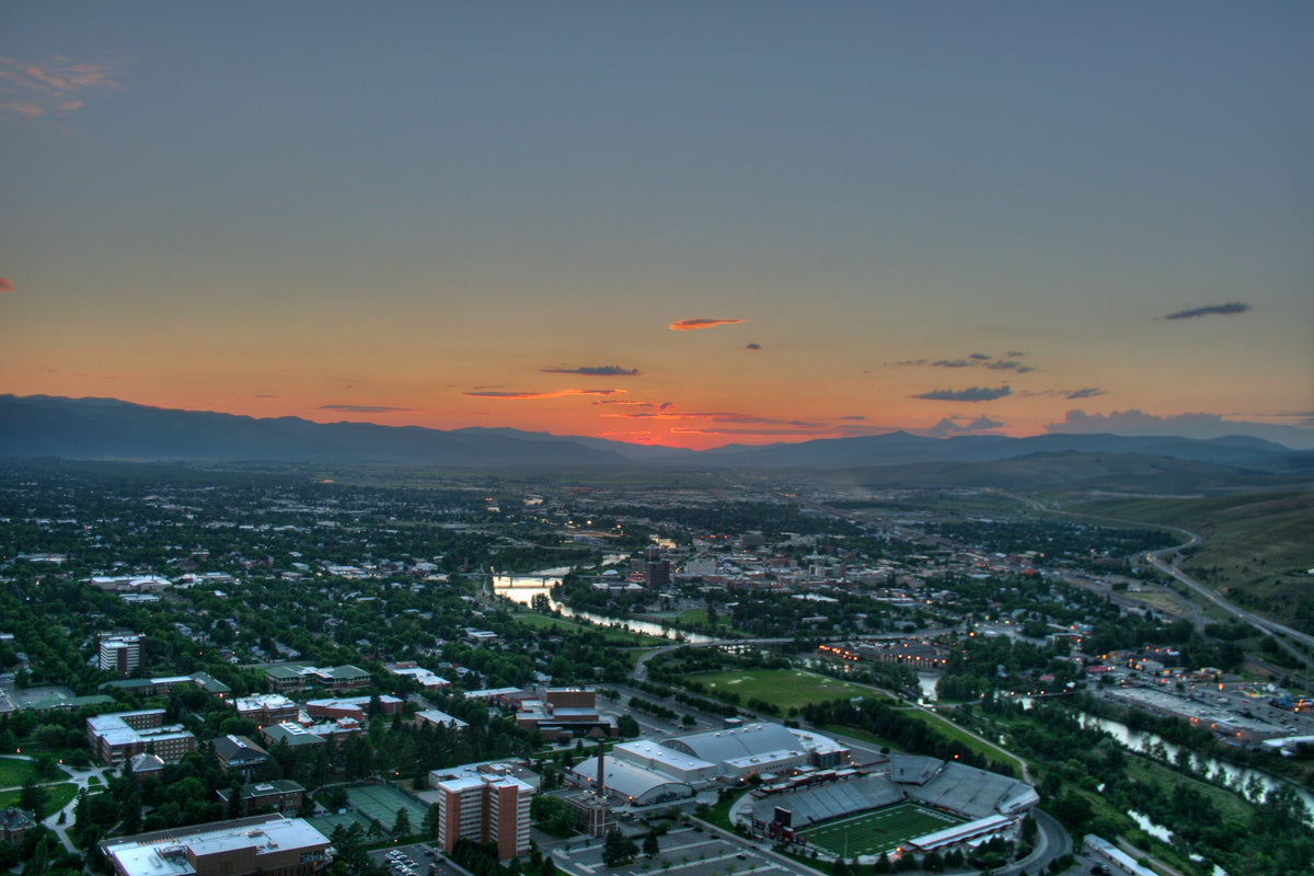 Overlooking Missoula, MT