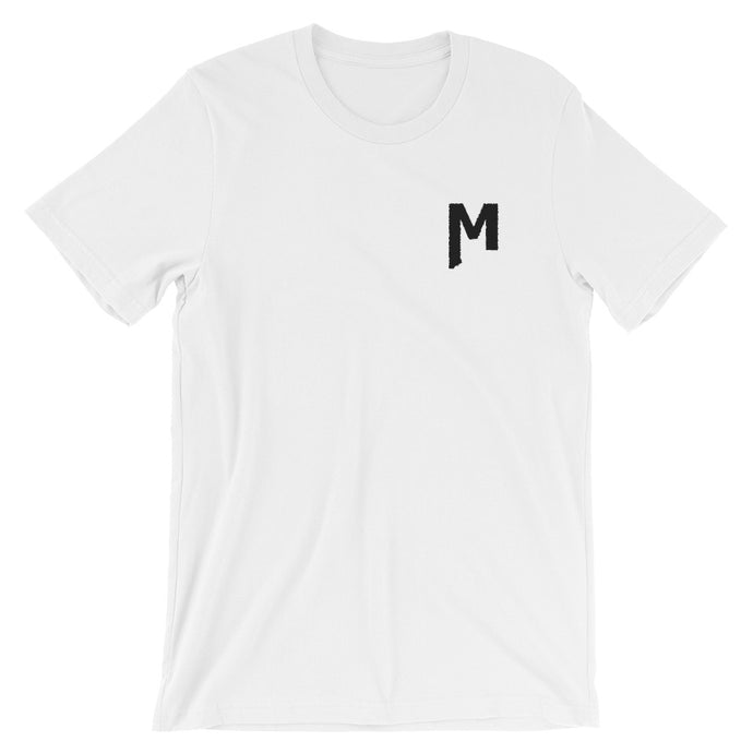 M Tee - Montana M embroidered T-Shirt
