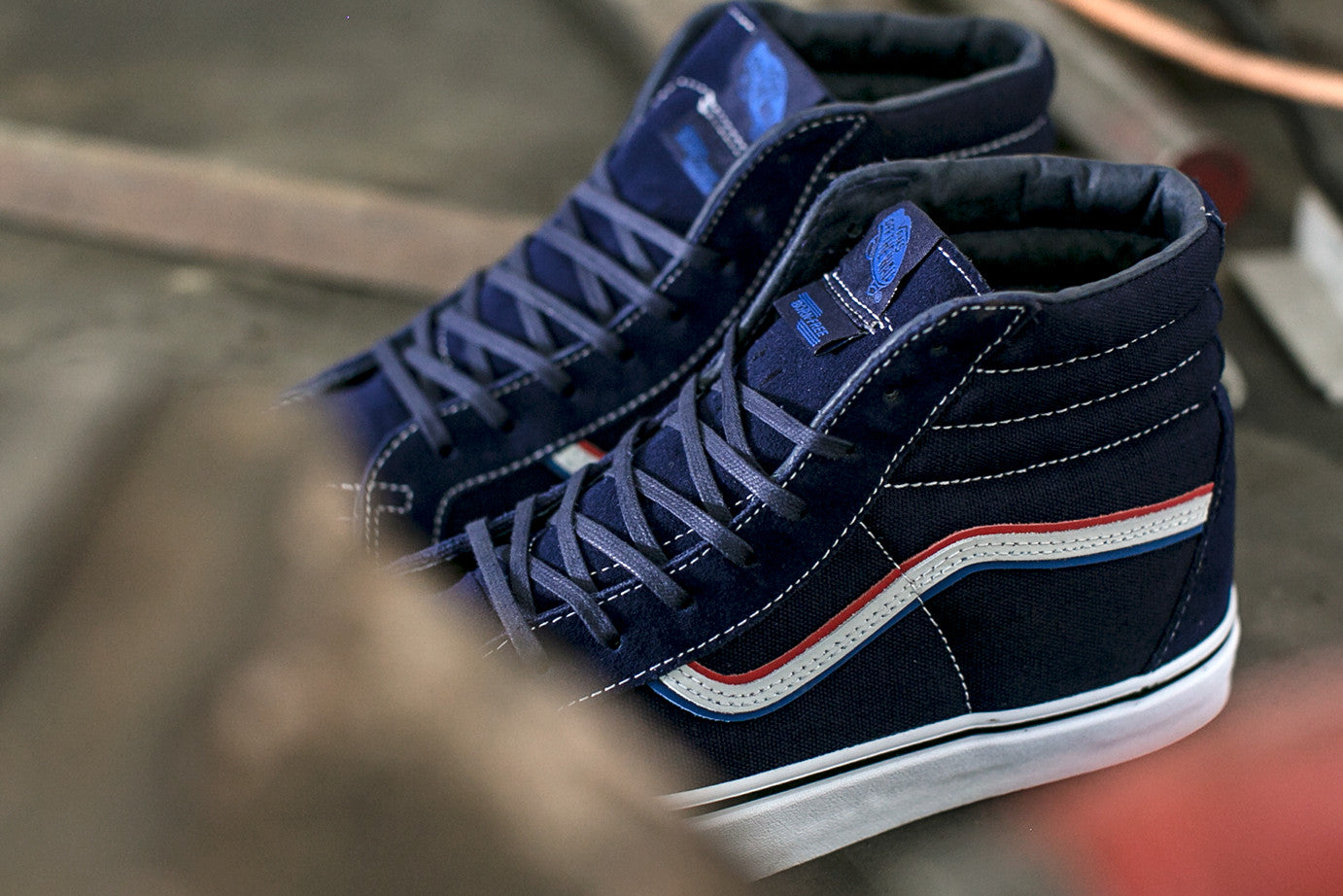 10f2e65a64 BORN FREE X BLENDS X VANS VAULT OG SK8-HI LX FEATURE