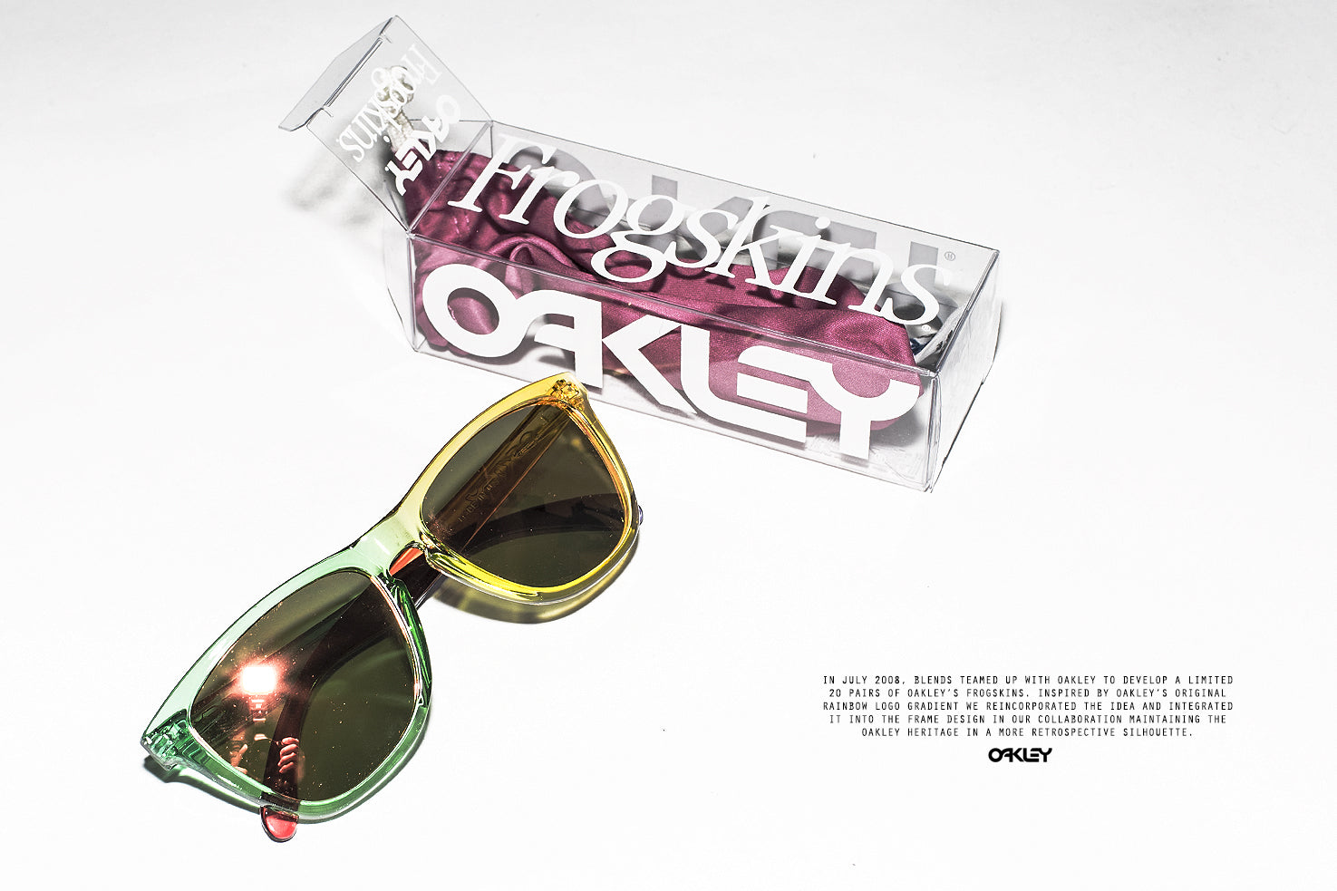 Oakley x Blends Frogskins