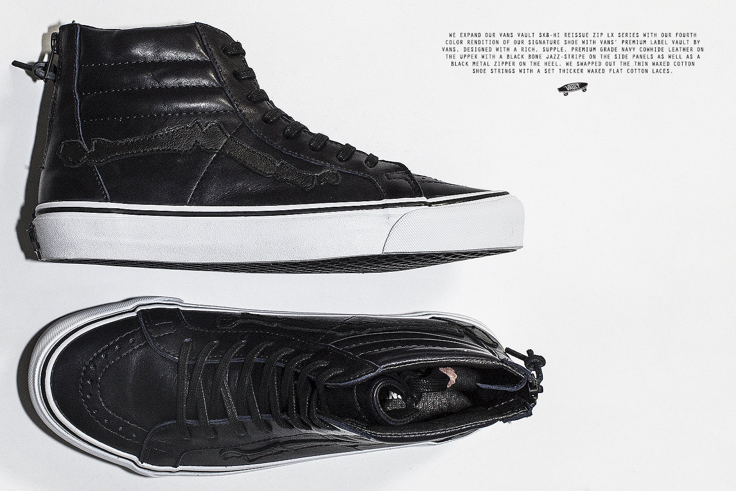 Blends x Vans Vault Sk8-Hi Reissue Zip LX 'Peacoat'