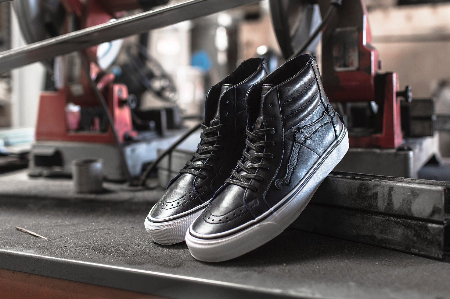 Blends x Vans Vault Sk8-Hi Reissue Zip LX - Peacoat Feature