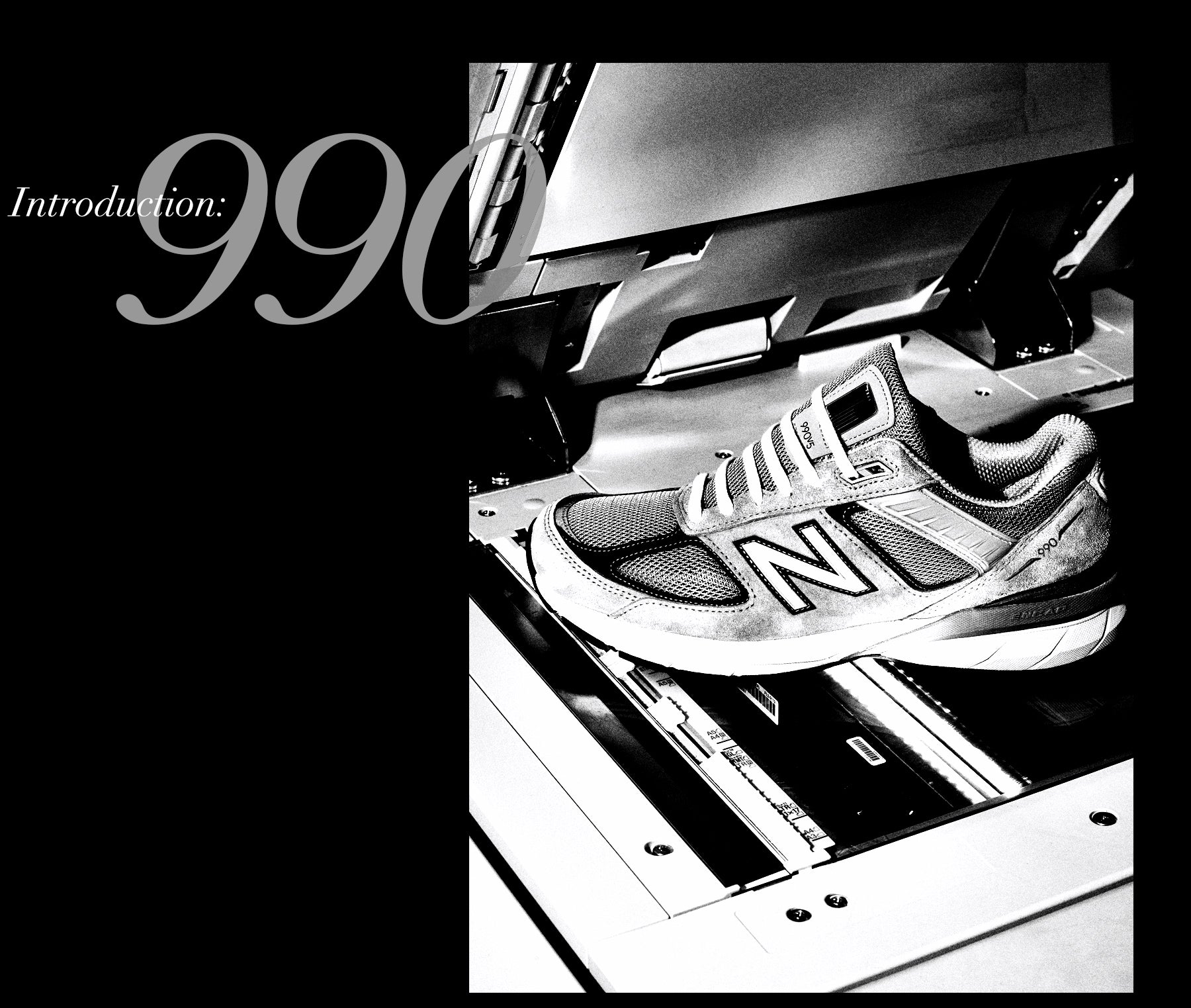 new style 1213f 8870a INTRODUCTION: NEW BALANCE 990 | BLENDS