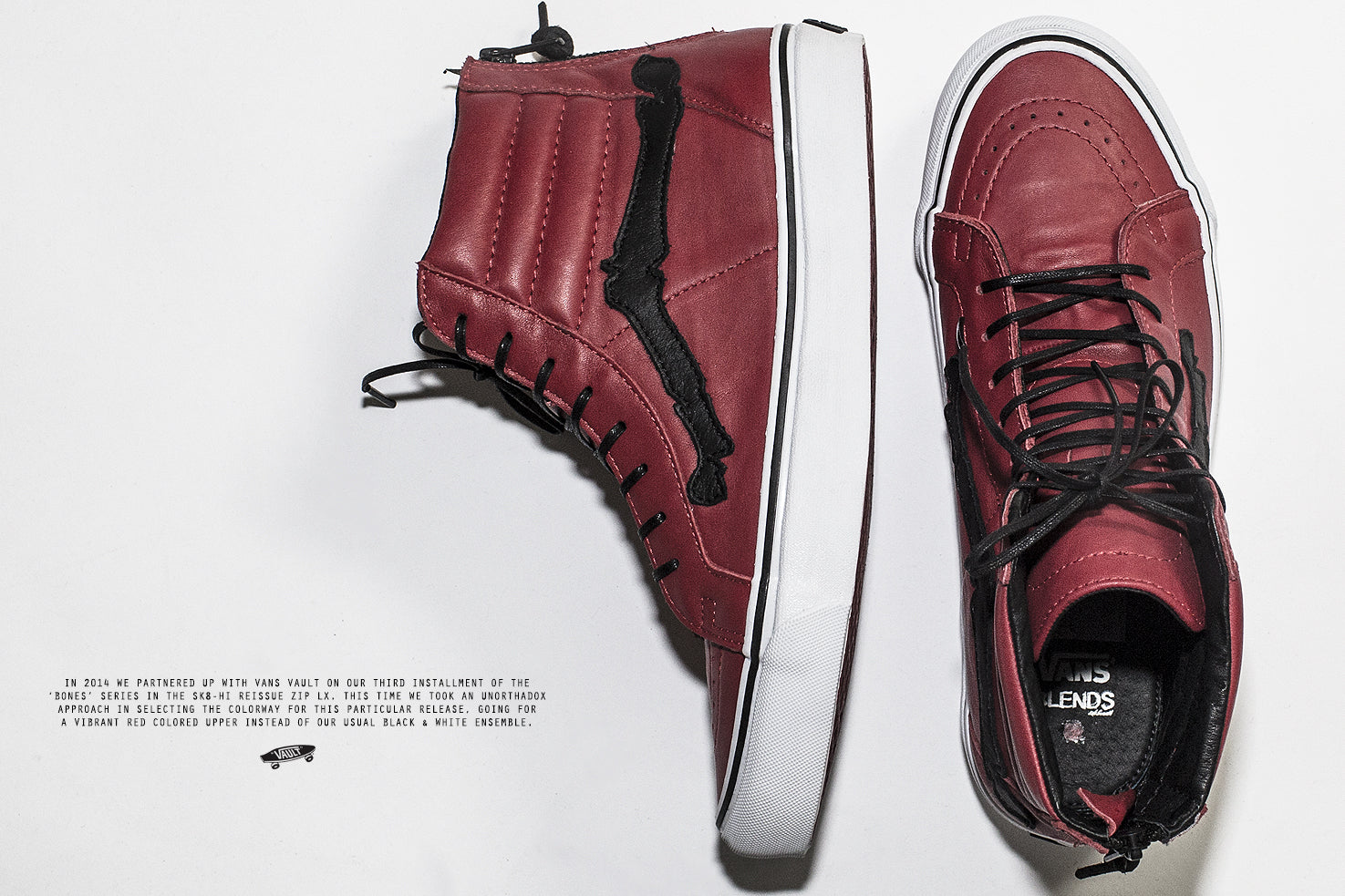 Vans Vault x Blends Sk8-Hi Zip LX 'Chili Pepper'