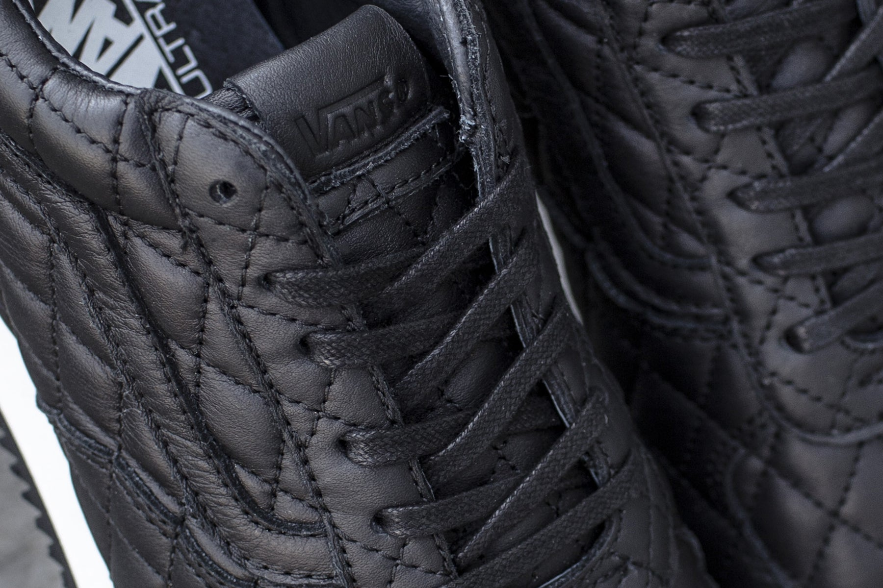 4b4aafb7bad1c7 The Blends x Vans Vault Quilted Leather Runner will be available this  Saturday