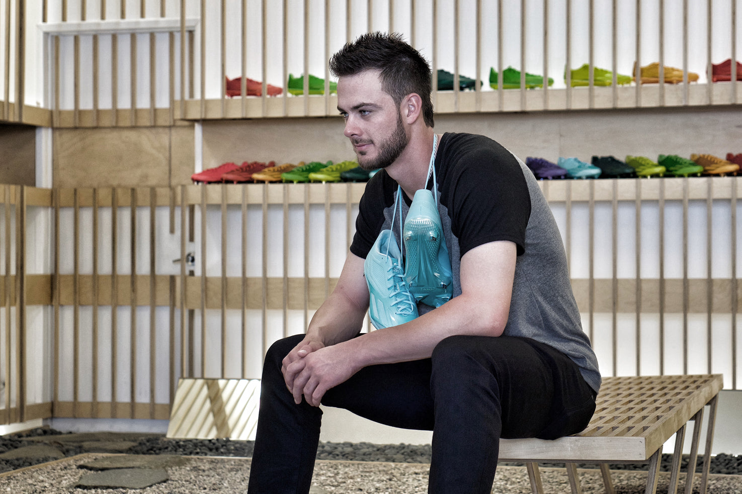 Kris Bryant's adidas Baseball gifting at Blends San Diego