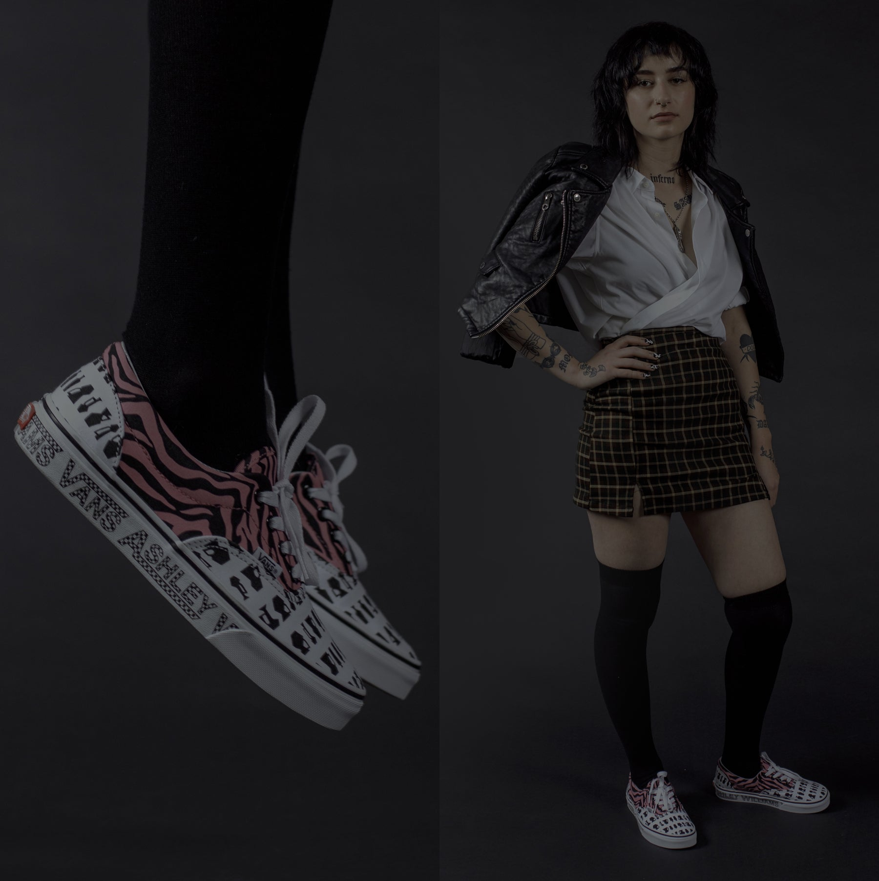 ASHLEY VILLIAMS x VANS FEATURE