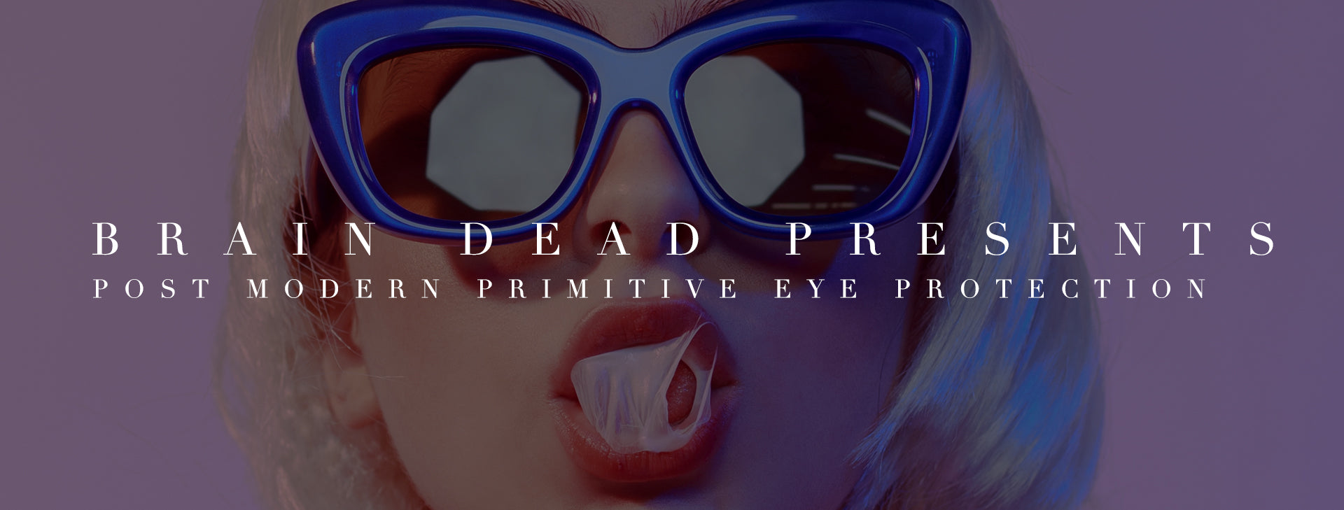 Brain Dead Presents: Post Modern Primitive Eye Protection