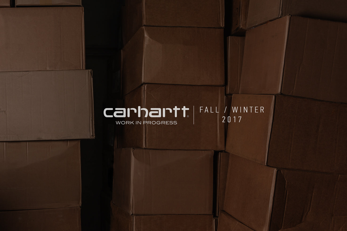CARHARTT WIP 2017 FALL/WINTER FEATURE