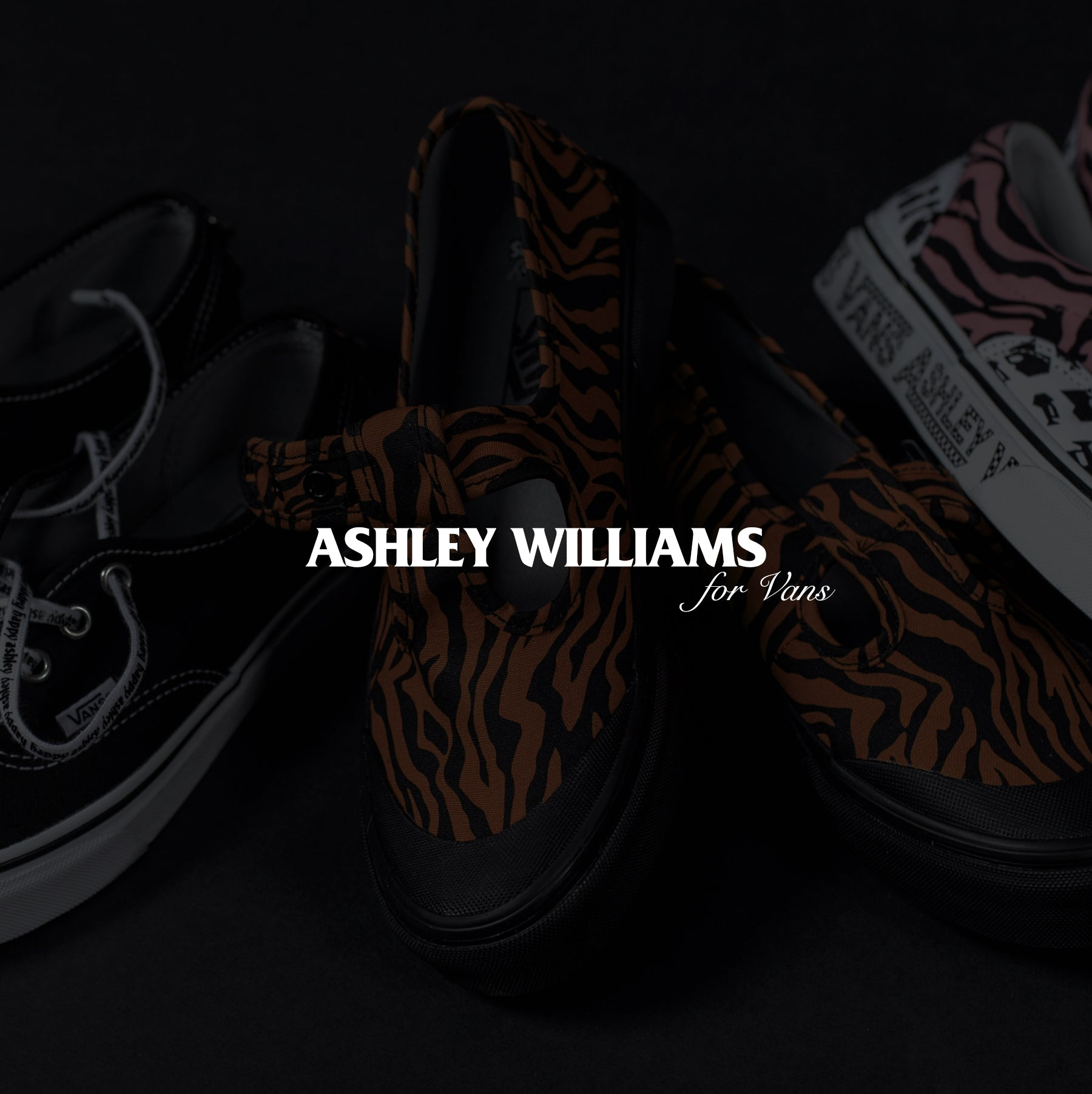 ASHLEY WILLIAMS x VANS FEATURE