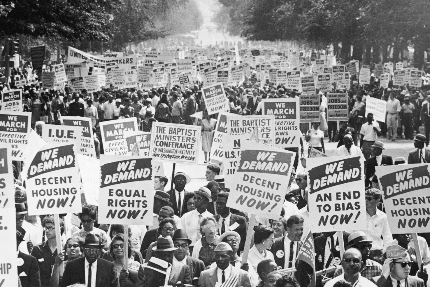 THE MARCH ON WASHINGTON - AUGUST 28, 1963