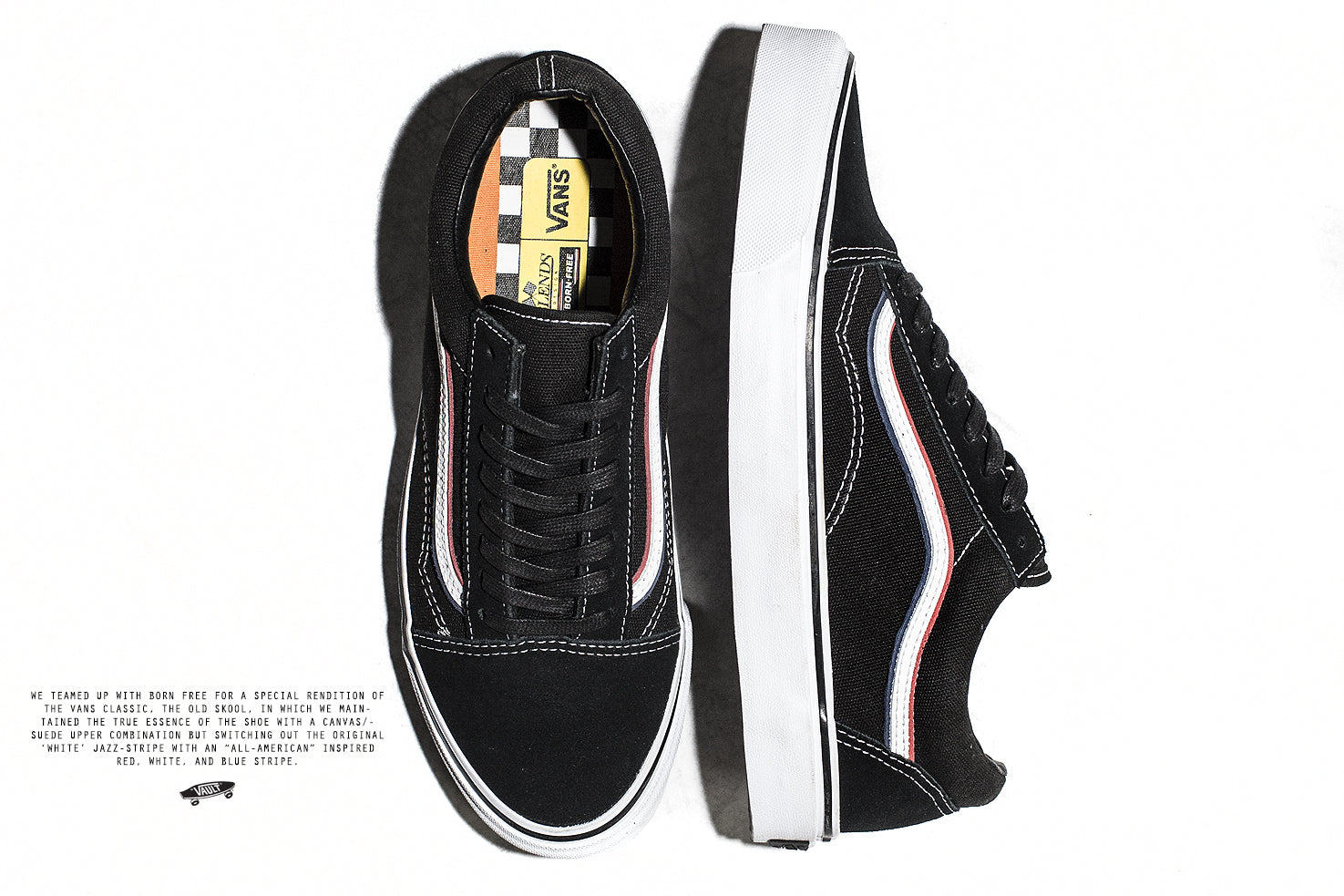 Blends x Born Free x Vans Vault OG Old Skool LX