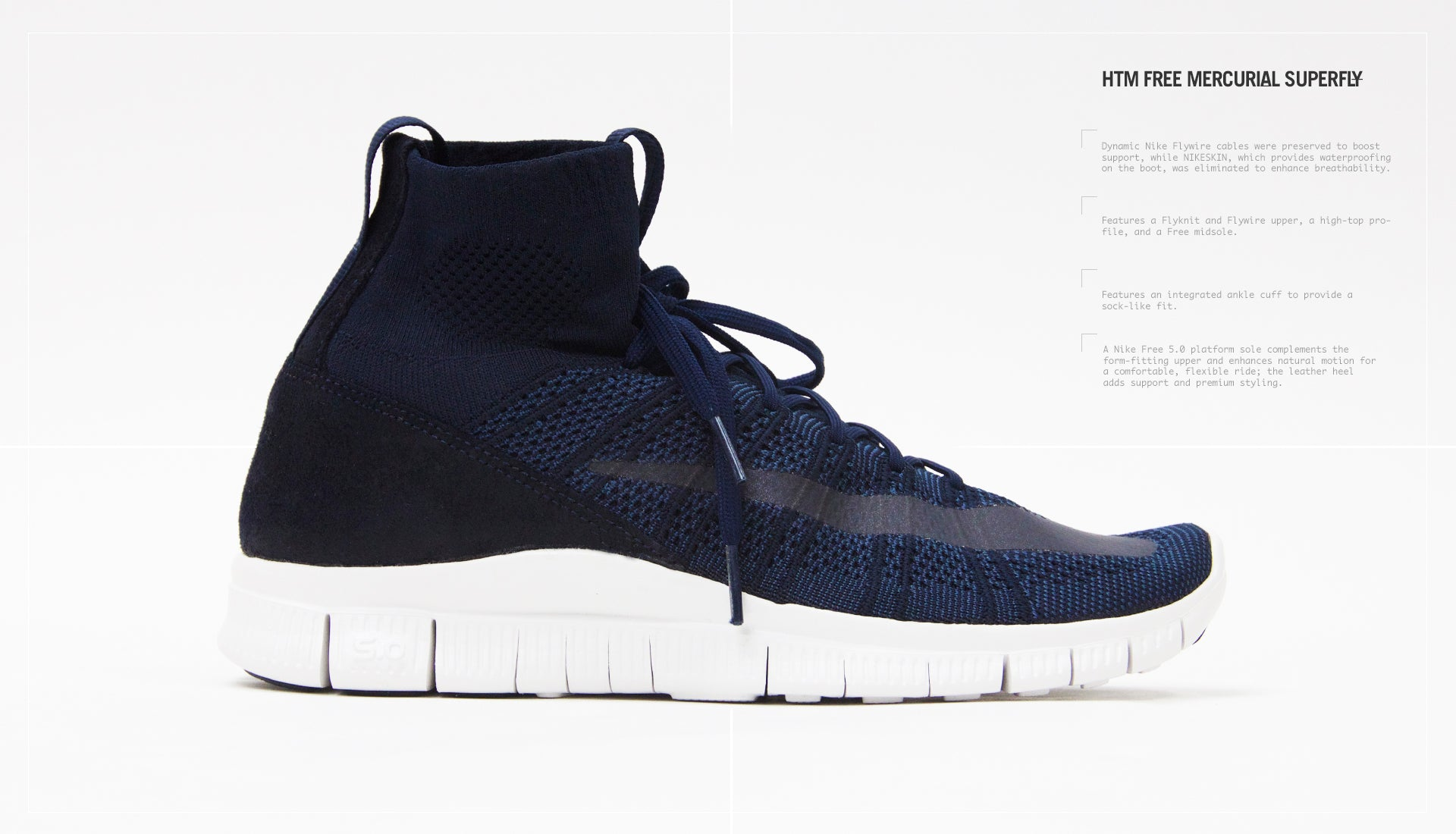 a00d7d620ab6 BLENDS | HTM Free Mercurial Superfly Flyknit - Feature