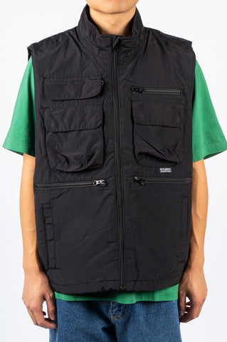 STUSSY HIGHLAND VEST BLACK - BLENDS