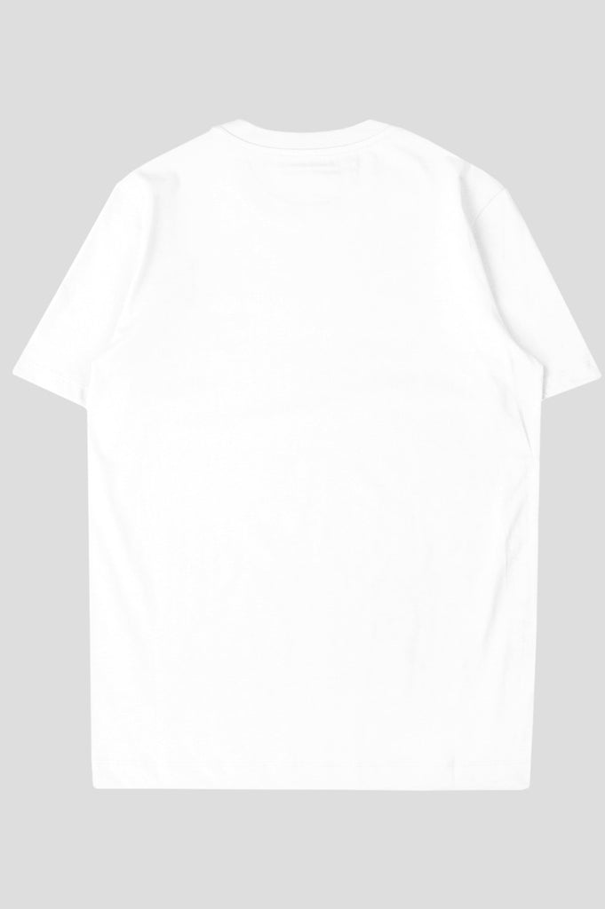 COMME DES GARCONS PLAY SS TSHIRT WHITE BLACK