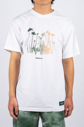 AFIELD OUT HALLUCINATE T-SHIRT WHITE - BLENDS