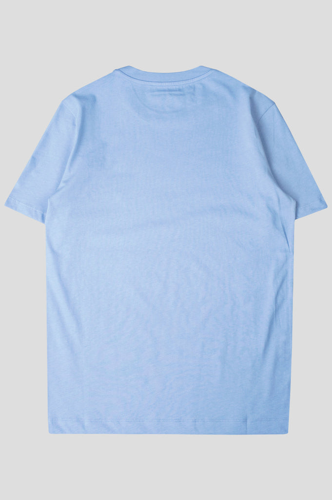 COMME DES GARCONS PLAY SS TSHIRT BLUE BLACK - BLENDS