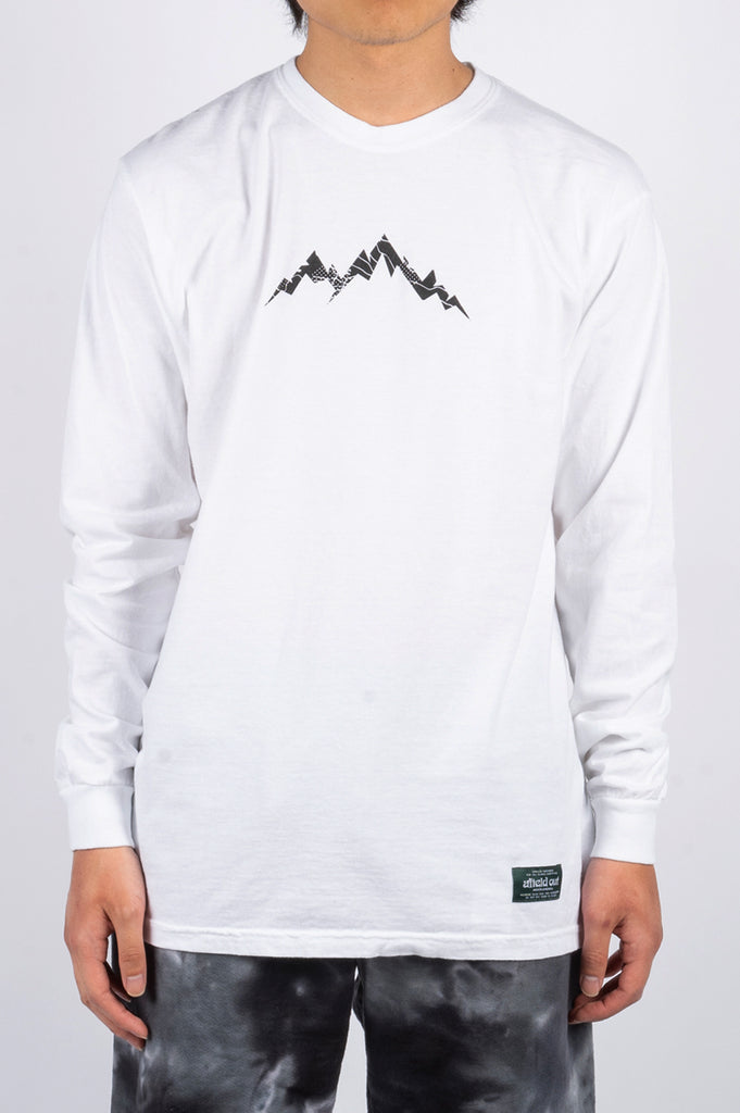 AFIELD OUT BASECAMP LS TSHIRT WHITE - BLENDS