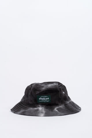 AFIELD OUT TIE DYE BUCKET HAT BLACK - BLENDS