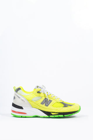 NEW BALANCE X ARIES 991 NEON YELLOW - BLENDS