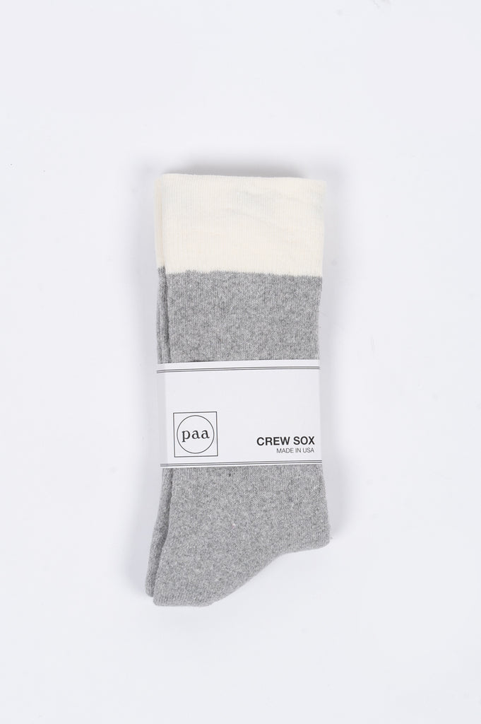 HOUSE OF PAA CREW SOX 2.5 GREY - BLENDS