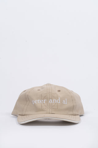 HOUSE OF PAA SOUVENIR CAP LIGHT KHAKI - BLENDS