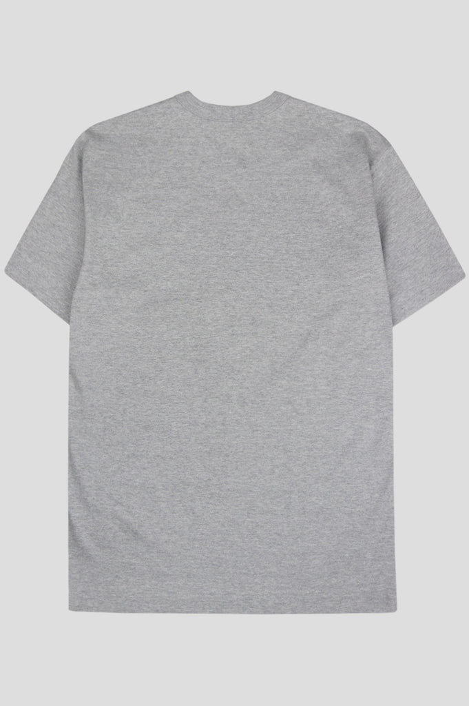 COMME DES GARCONS PLAY SS TSHIRT GREY BLACK - BLENDS