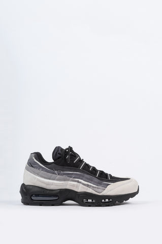 COMME DES GARCONS HOMME PLUS X NIKE AIR MAX 95 WHITE BLACK CHARCOAL - BLENDS