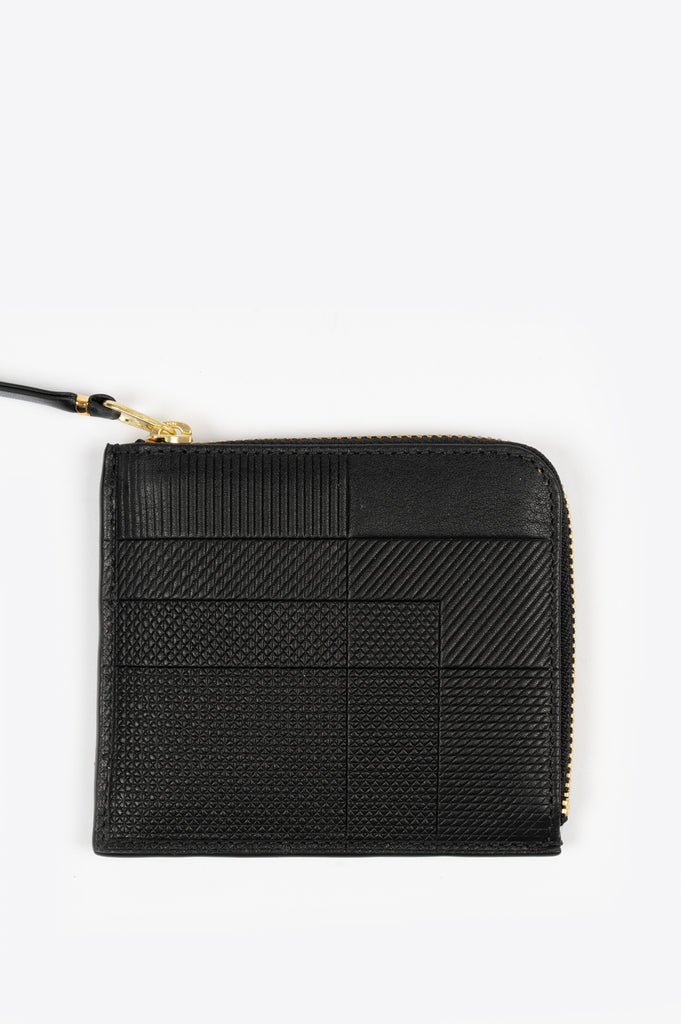 COMME DES GARCONS INTERSECTION LINES WALLET SA3100 BLACK