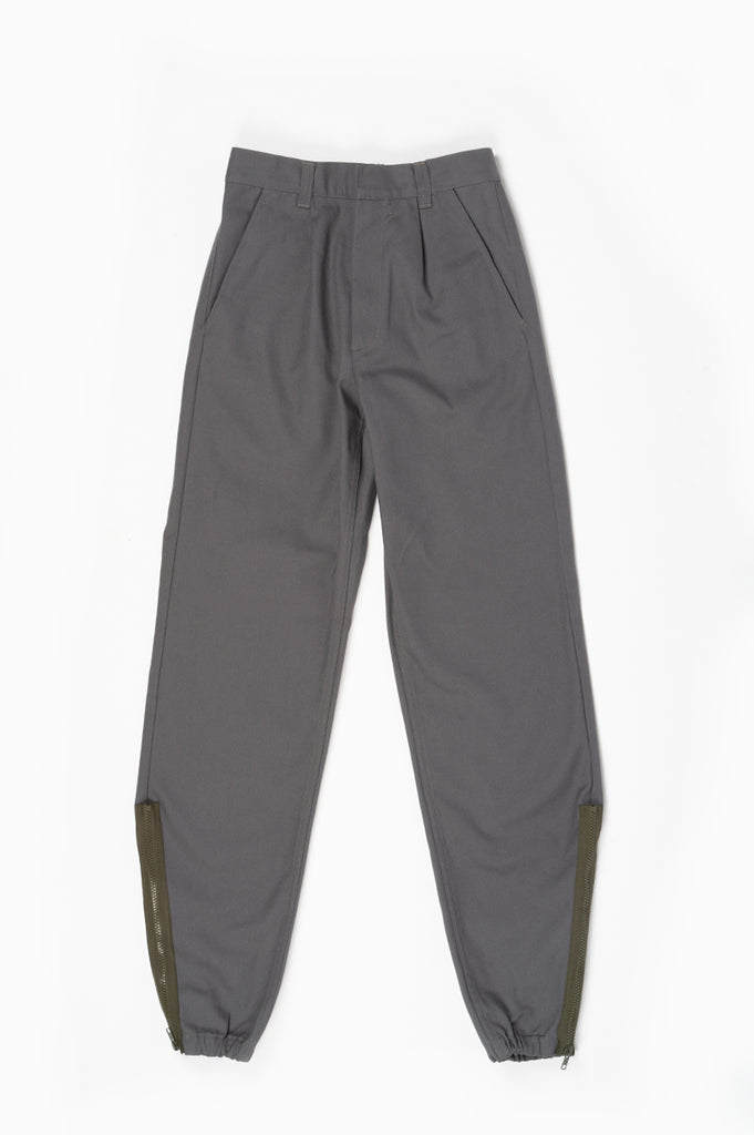 GR10K KLOPMAN MERIT ARCHITECTONIC PANTS GREY