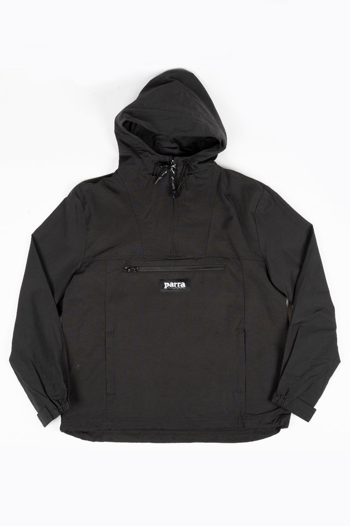 PARRA NO WATER WINDBREAKER BLACK