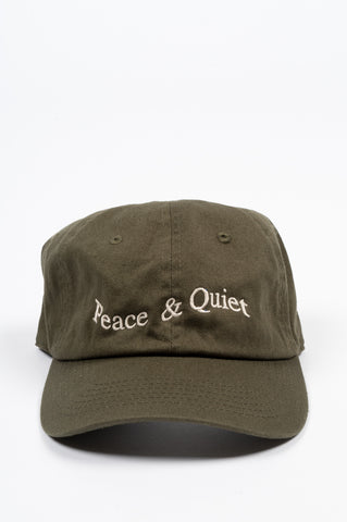 THE MUSEUM OF PEACE AND QUIET WORDMARK HAT FOREST