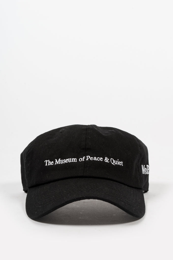 THE MUSEUM OF PEACE AND QUIET CAP BLACK