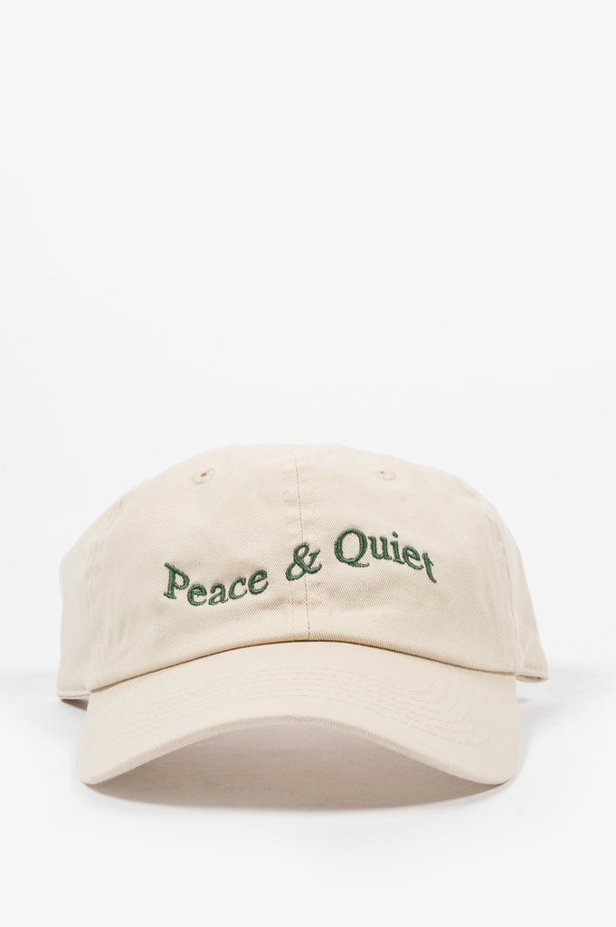 PEACE AND QUIET CAP KHAKI