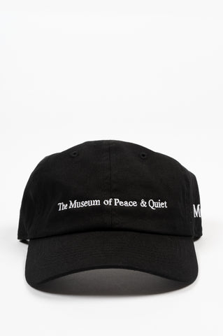THE MUSEUM OF PEACE AND QUIET MOPQ HAT BLACK