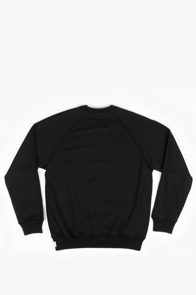 REIGNING CHAMP KNIT MID WT TERRY RELAXED FIT CREWNECK BLACK