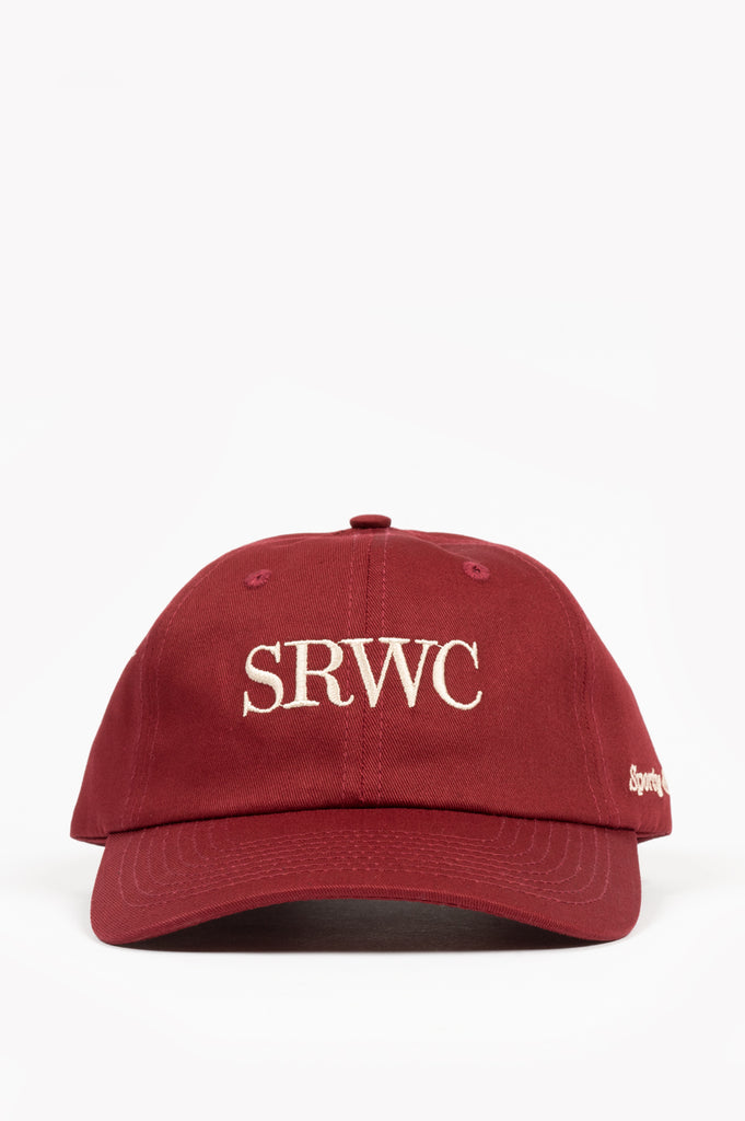 SPORTY AND RICH UPPER EAST SIDE HAT MERLOT