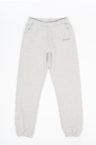 SPORTY AND RICH MOVE YOUR BODY SWEATPANTS HEATHER GRAY