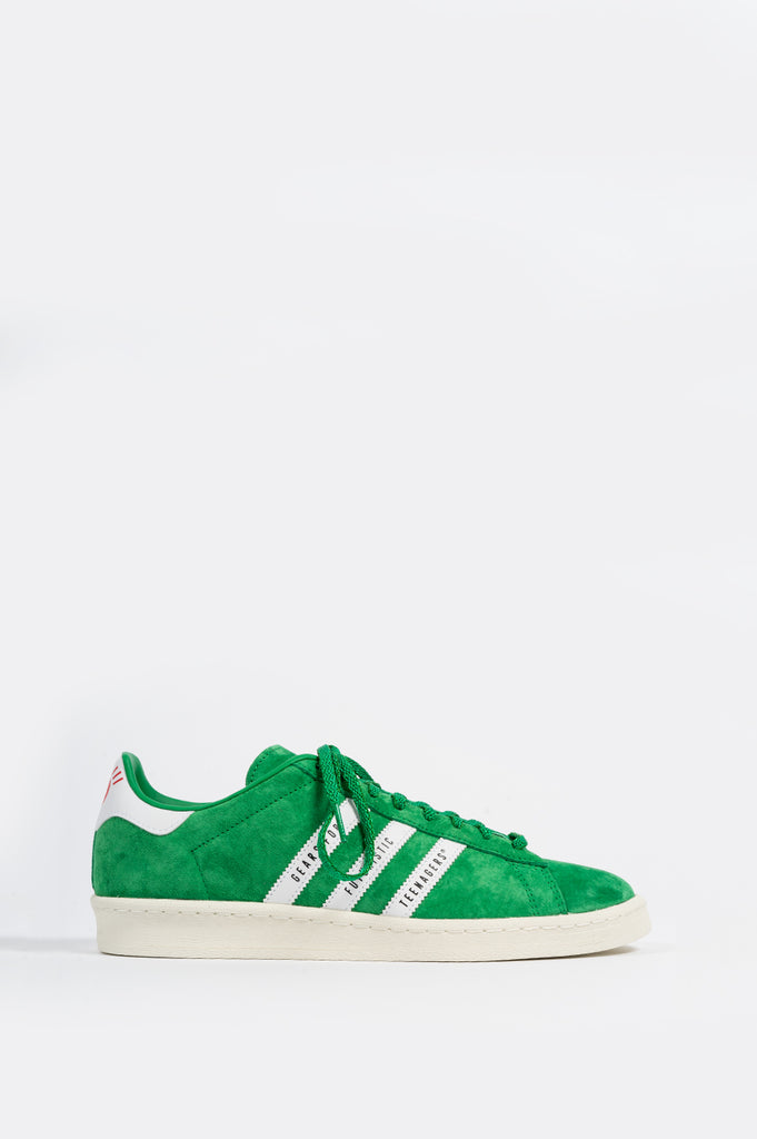 ADIDAS CAMPUS X HUMAN MADE GREEN WHITE