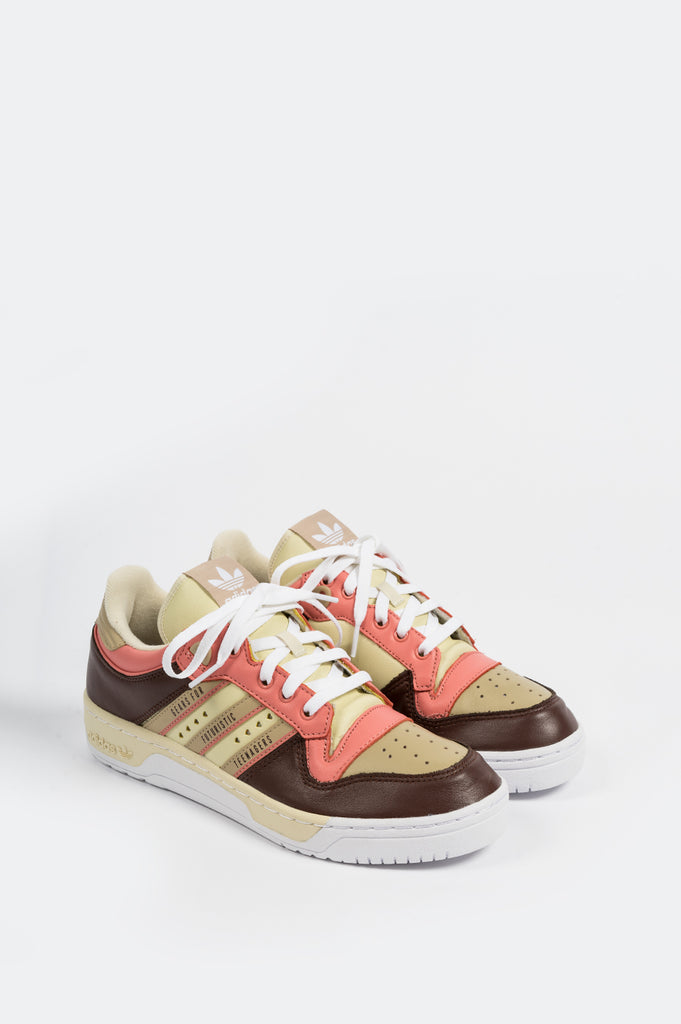 ADIDAS RIVALRY LOW X HUMAN MADE SAND CLOUD WHITE