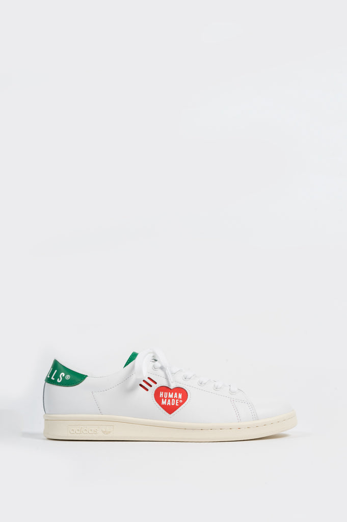 ADIDAS STAN SMITH X HUMAN MADE WHITE GREEN